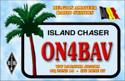 QSL image for ON4BAV