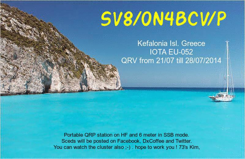 QSL image for ON4BCV