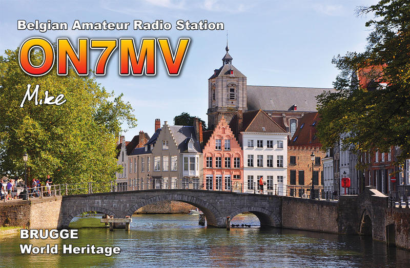 QSL image for ON7MV