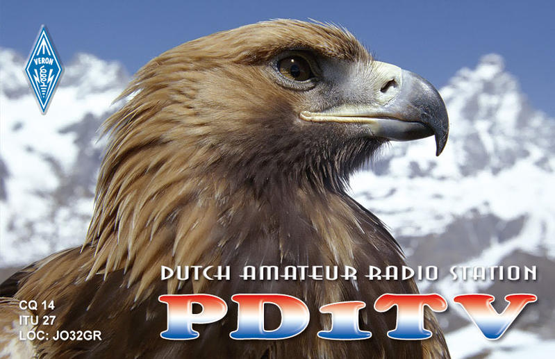 QSL image for PD1TV