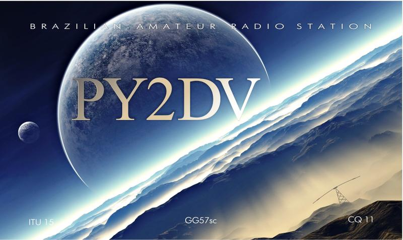 QSL image for PY2DV