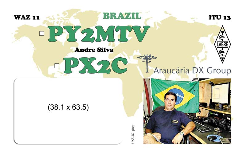 QSL image for PY2MTV