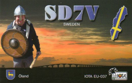 QSL image for SD7V