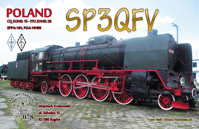 QSL image for SP3QFV