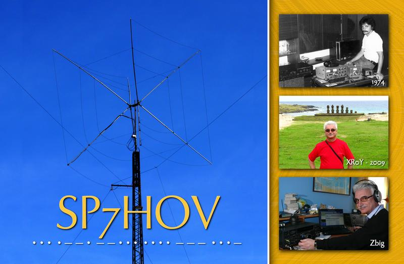 QSL image for SP7HOV