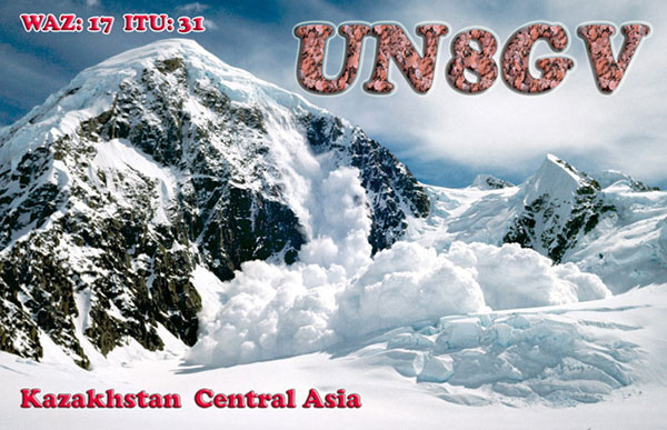 QSL image for UN8GV