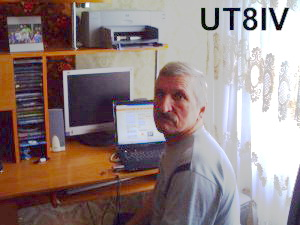 QSL image for UT8IV