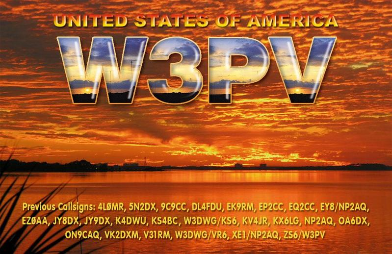 QSL image for W3PV