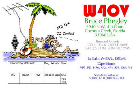 QSL image for W4OV