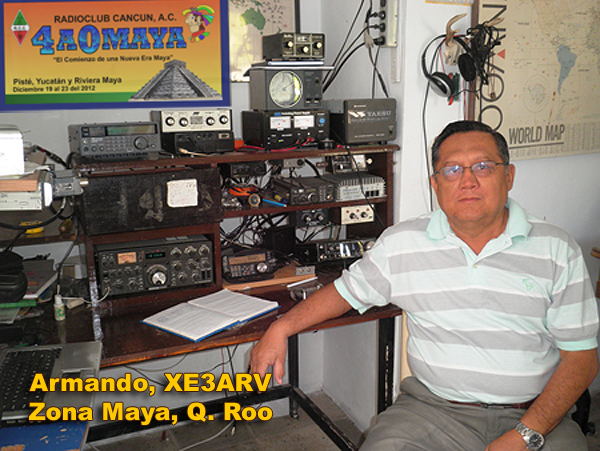 QSL image for XE3ARV