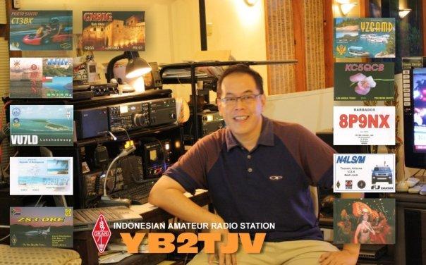 QSL image for YB2TJV