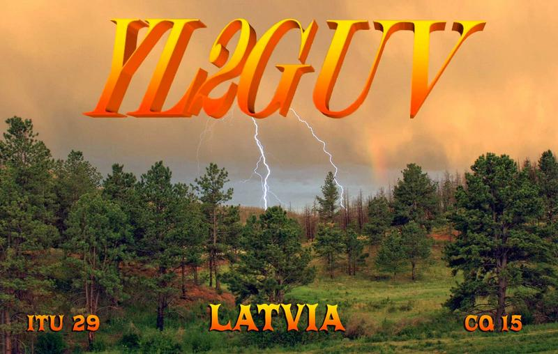 QSL image for YL2GUV