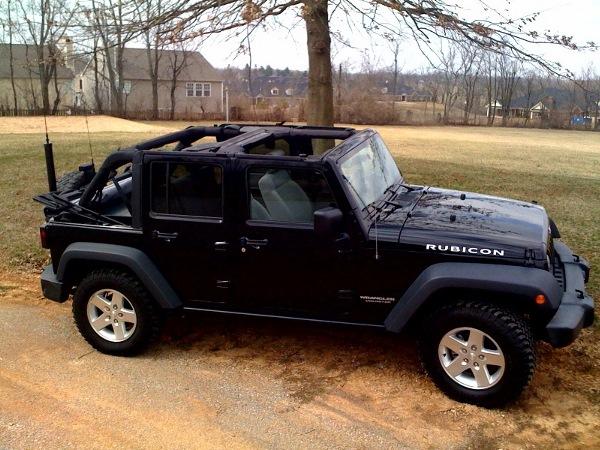 2007 Black JK 4 Door Jeep