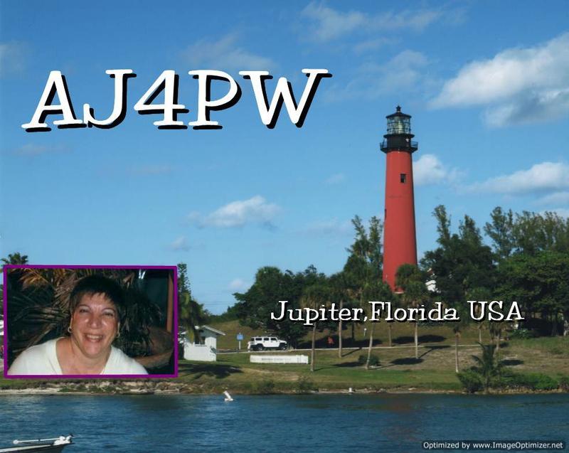 QSL image for AJ4PW