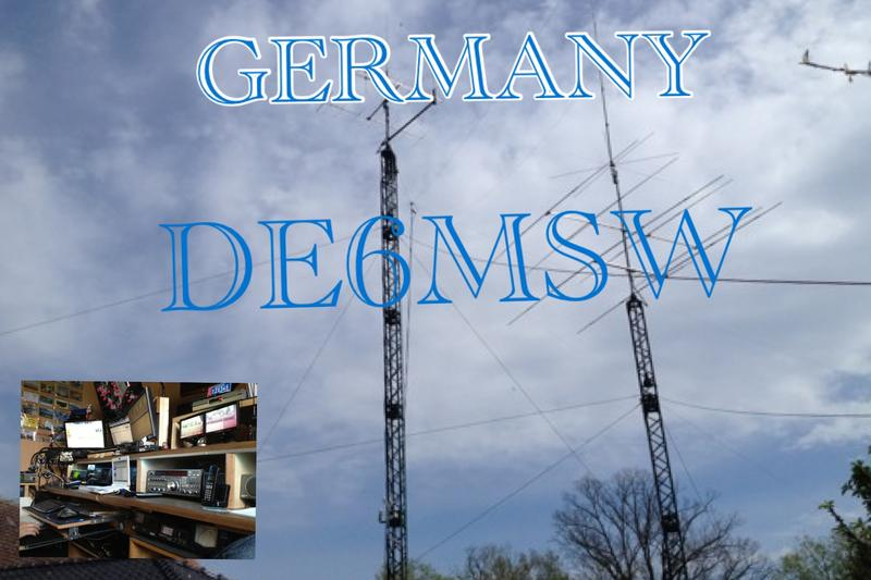 QSL image for DE6MSW