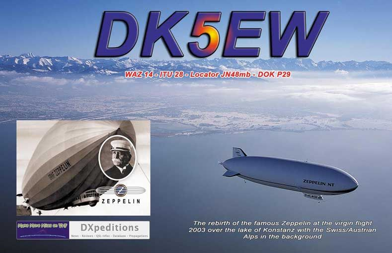 QSL image for DK5EW