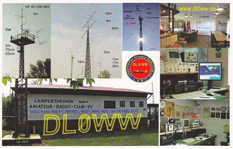 QSL image for DL0WW
