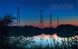 Wertachtal Shortwave Transmitting Site commemorative card