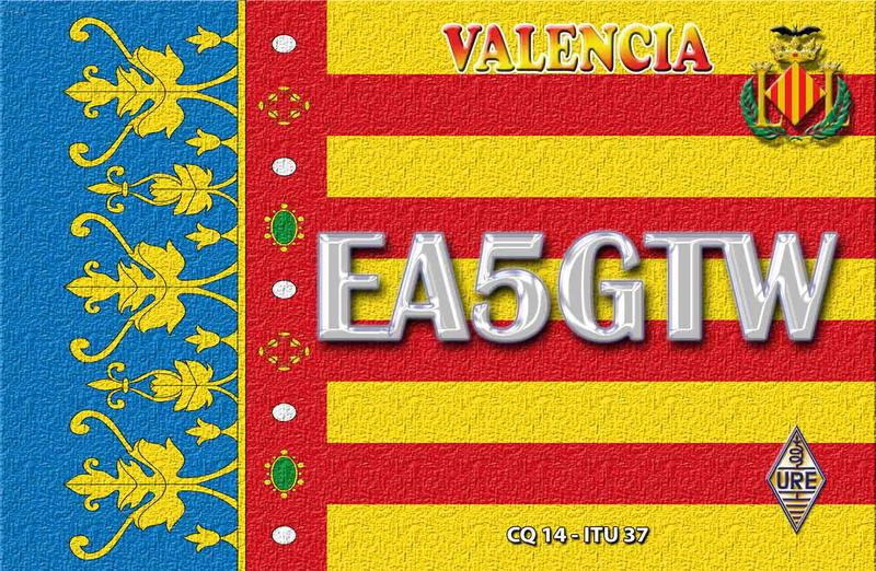QSL image for EA5GTW