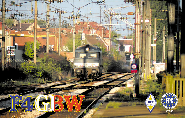 QSL image for F4GBW