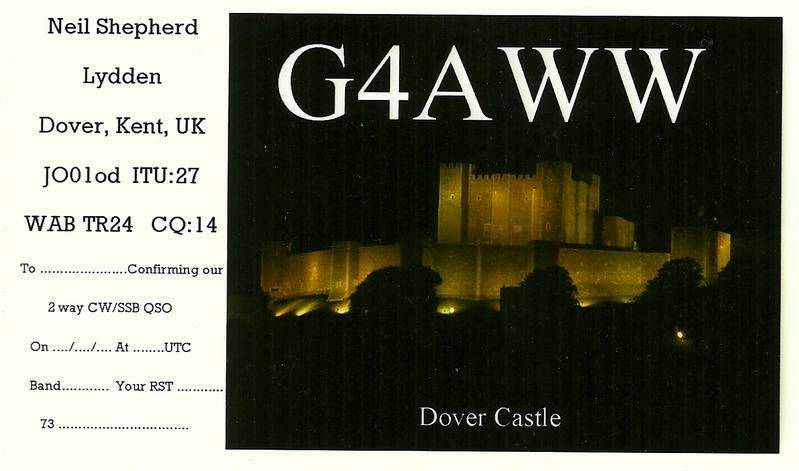 QSL image for G4AWW