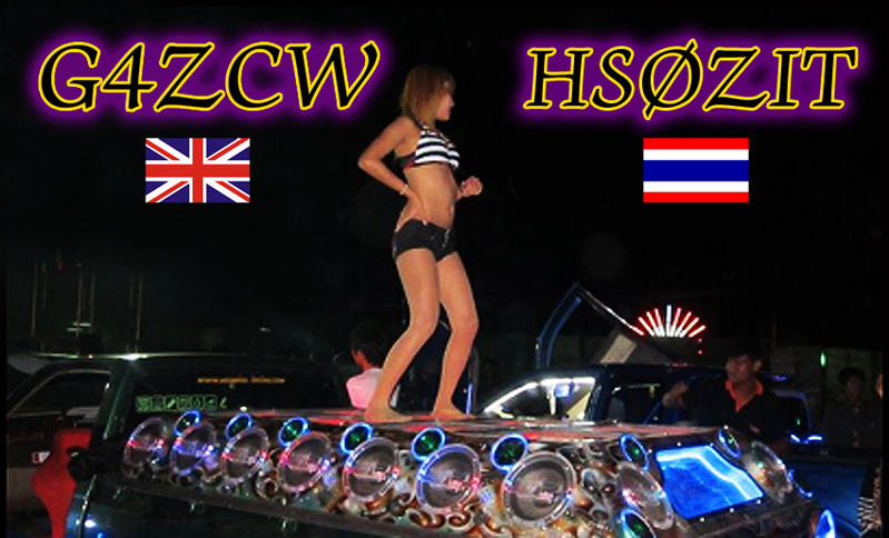 QSL image for G4ZCW