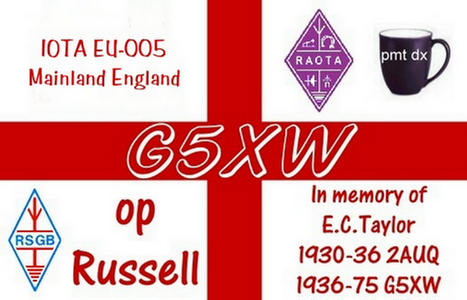 QSL image for G5XW