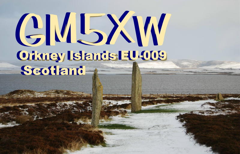 QSL image for GM5XW