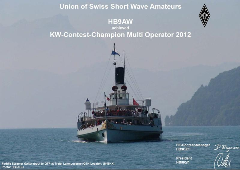 QSL image for HB9AW