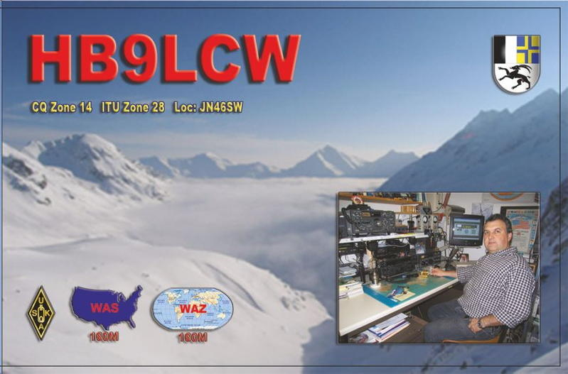 QSL image for HB9LCW