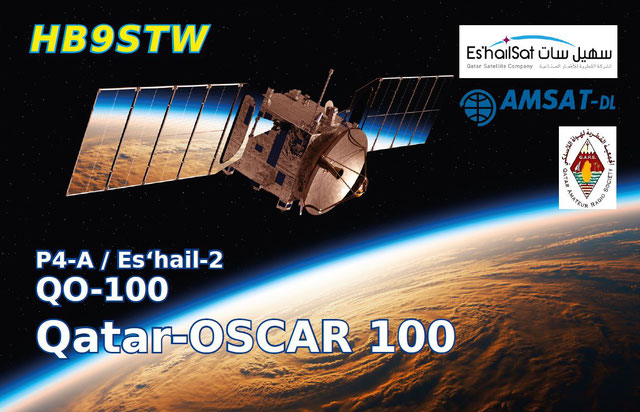 QSL image for HB9STW