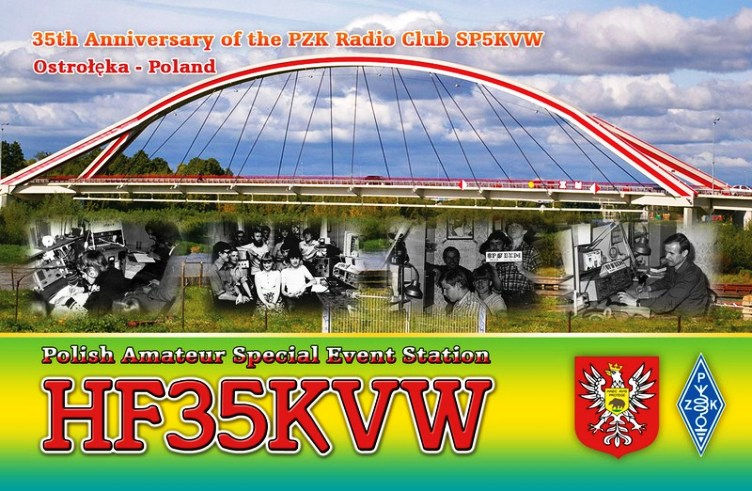 QSL image for HF35KVW