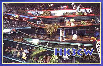 QSL image for HK3CW