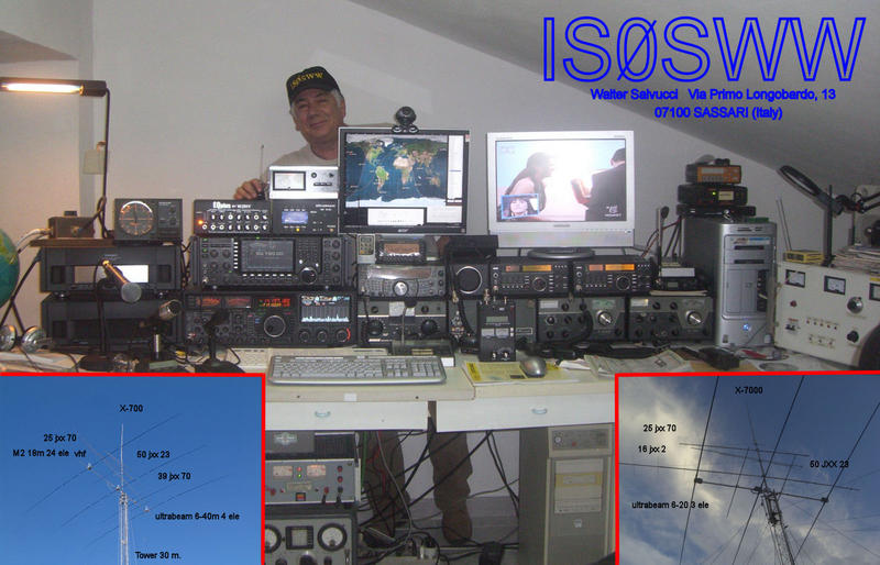 QSL image for IS0SWW