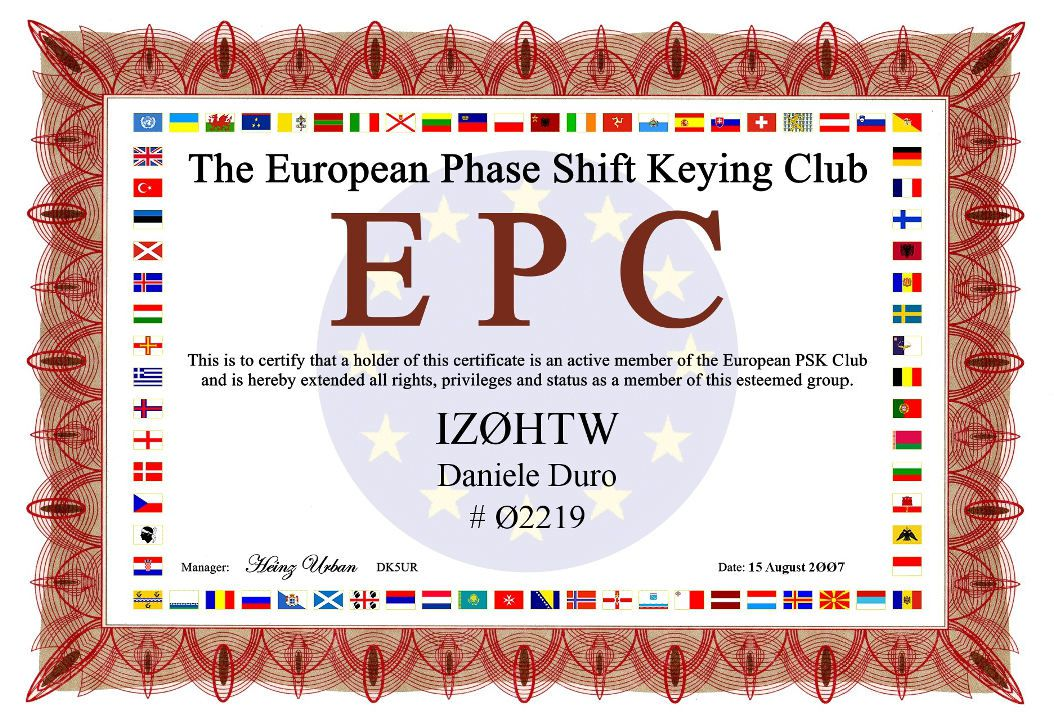 QSL image for IZ0HTW
