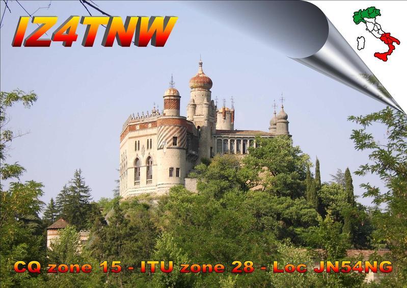 QSL image for IZ4TNW