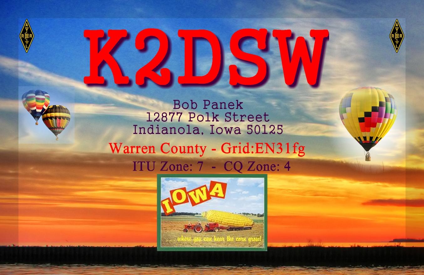 QSL image for K2DSW