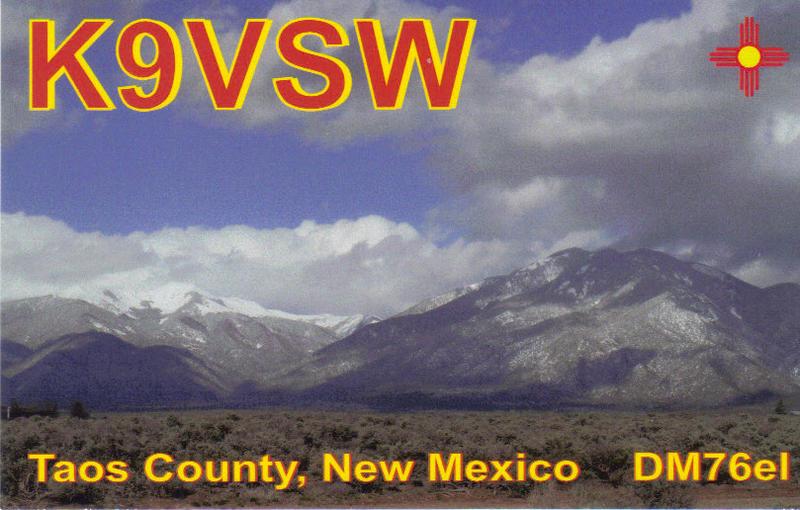 QSL image for K9VSW
