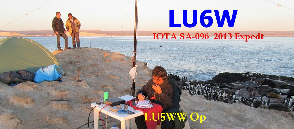 QSL image for LU5WW