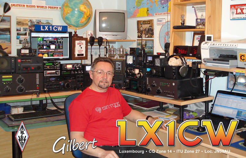 QSL image for LX1CW