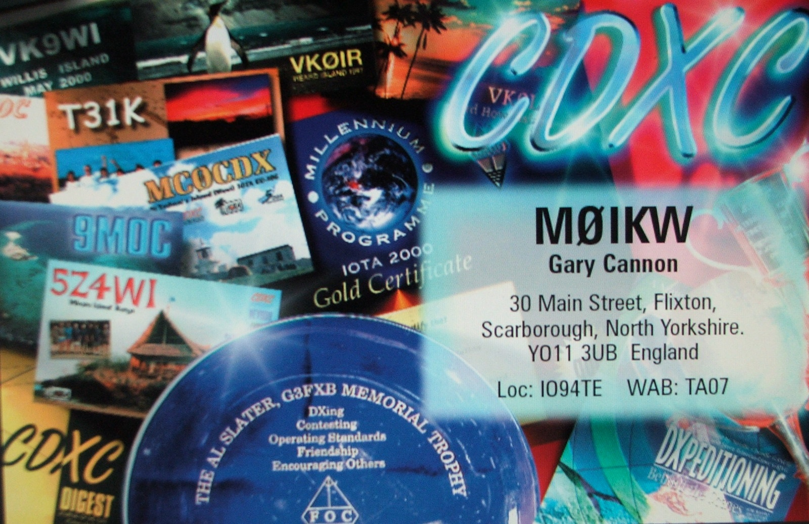 QSL image for M0IKW