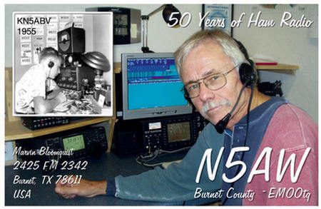QSL image for N5AW