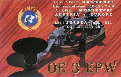 QSL image for OE3EPW