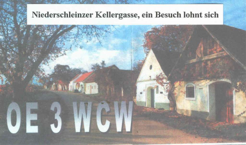 QSL image for OE3WCW