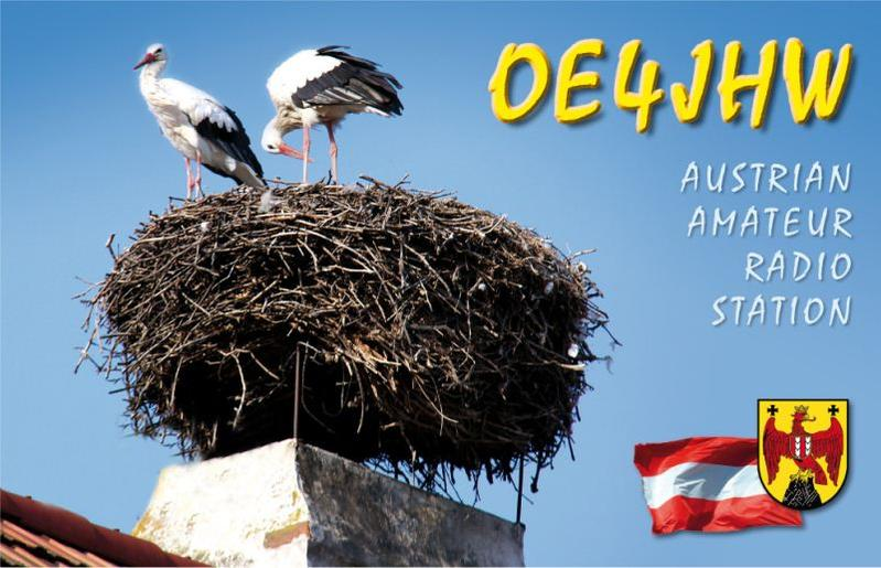 QSL image for OE4JHW
