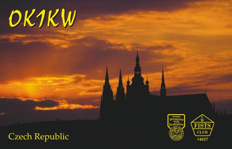 QSL image for OK1KW