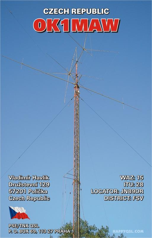 QSL image for OK1MAW