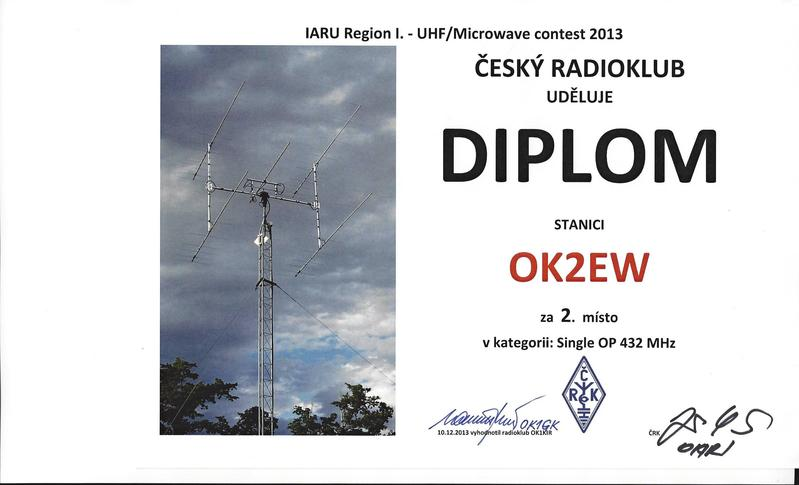 QSL image for OK2EW