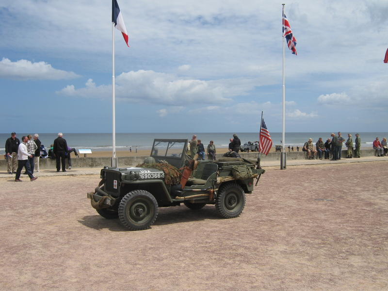 Willys @ Omaha beach
