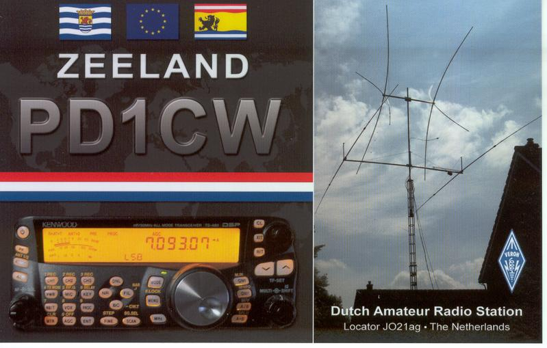 QSL image for PD1CW